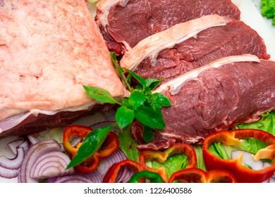 açougue carnes supermermercado e verduras