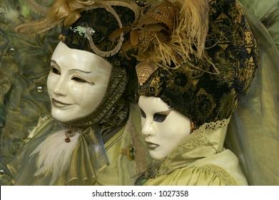 Carneval mask in Venice, Italy