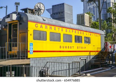 Carneys at Sunset Boulevard in Los Angeles - LOS ANGELES / CALIFORNIA - APRIL 20, 2017