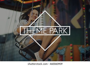 Carnival Amusement Park Theme Fun Concept
