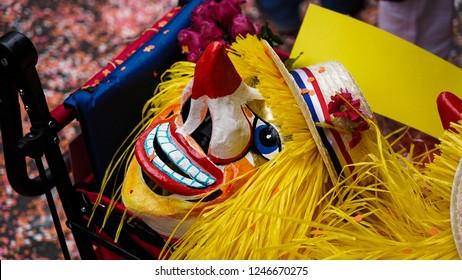 Carnival in Basel Masks