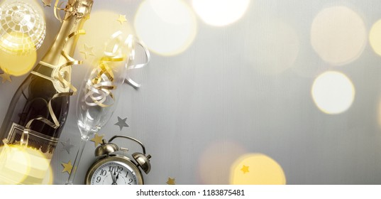 Carnival with champagne,Champagne on festive background