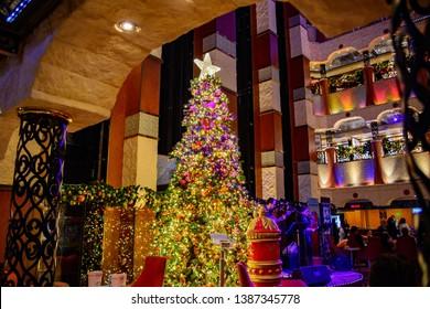 Christmas Carnival Cruise.Cruise Ship Interior Images Stock Photos Vectors