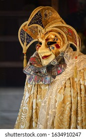 Carnival Mask and Costume in Venice