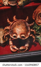 Carnival masks. Venetian masquerade. Holidays in Europe. Festival background. Venice, Italy.