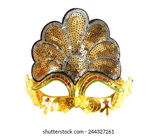 Carnival red venetian mask