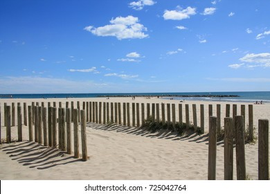 Carnon Plage, a seaside resort in the south of Montpellier