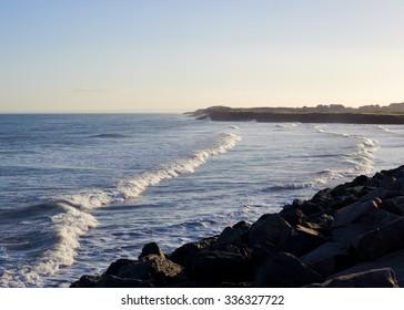 Carnoustie beach bay
