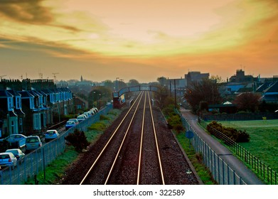 Carnoustie Railway and Golf Course, Scotland