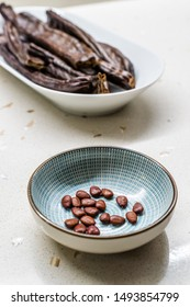 Carob Seeds and Pods Carats / Locust Beans Ready to Use.