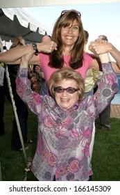 Carol Alt, Dr Ruth Westheimer at Hamptons Magazine Memorial Day party, Bridgehampton Surf and Tennis Club, Bridgehampton, NY, May 29, 2005