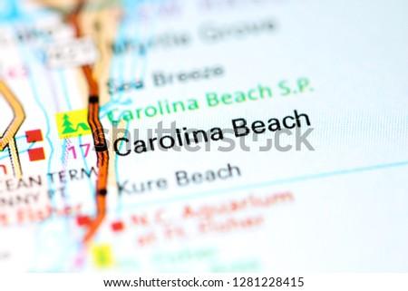 Carolina Beach North Carolina USA On Stock Photo (Edit Now ... on