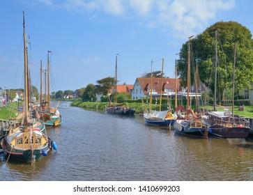 Carolinensiel at North Sea in East Frisia,lower saxony,Germany