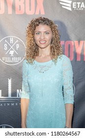 """Carolyn Maraghi attends  Skyline Entertainment's  """"The ToyBox"""" Los Angeles  Premiere at Laemmle's NoHo 7, North Hollywood, California on September 14th, 2018"""