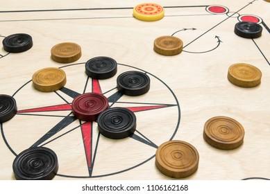 Carom board game