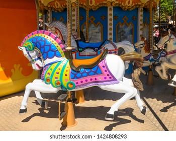 Carosel Horses at the Izmir fair