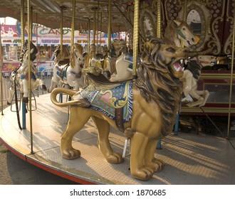 Carosel Lion