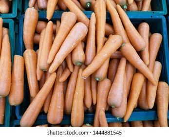 Carot in fruit and vegetable shops.