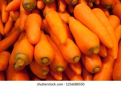 carot on supermarket