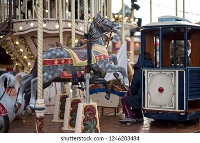 Carousel close up