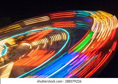 carousel night photo
