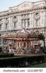 Carousel at Rome, Italy