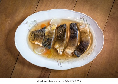 Carp in jelly