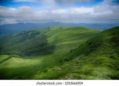 carpathian mountains, bieszczady