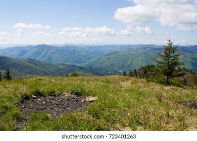 The Carpathian Mountains or Carpathians