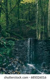 Carpathian waterfall