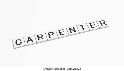 Carpenter word.