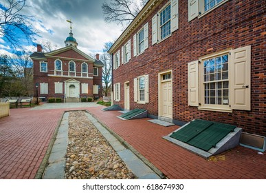 Carpenter's Hall, in Old City, Philadelphia, Pennsylvania.