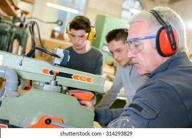 Carpentry work shop