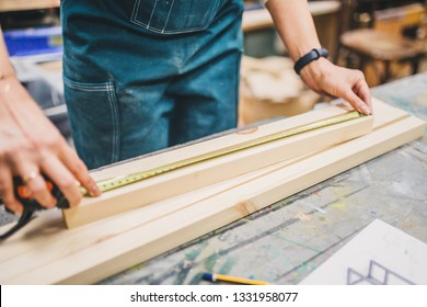Carpentry workshop - craft making wooden furniture - small business