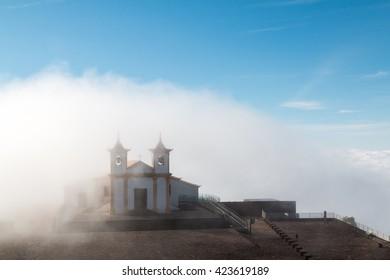 carpet of clouds / church on clouds