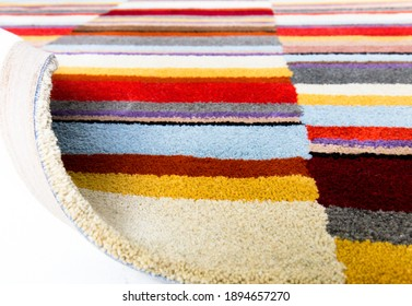 Carpet, modern design, comfortable and high quality, fits into the environment, one hundred percent wool