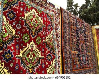 Carpet shop in eastern city