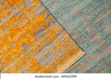 carpet shop exhibition colorful carpets
