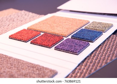 Carpet tiles colorful