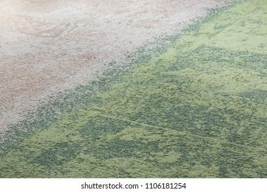 Carpet tiles transition