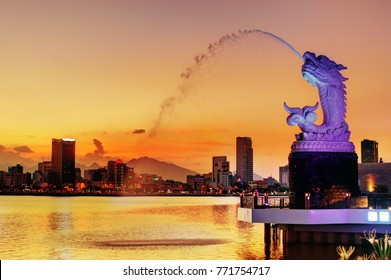 The Carp-Statue: One of many icon of Da Nang city