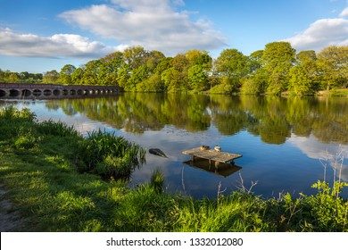 Carr Mill Dam is situated north of St Helens town centre, on the A571 (Carr Mill Road), in Merseyside. It is the county's largest body of inland water,