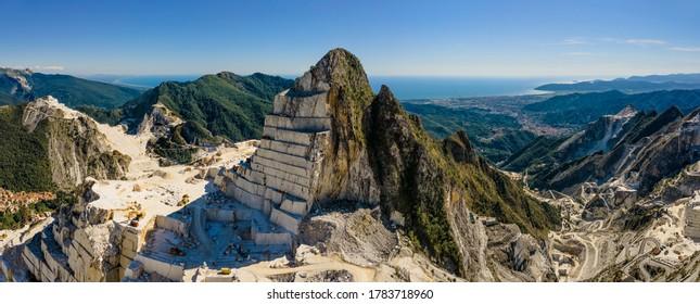 Carrara Marble Quarry - Tuscany - Italy