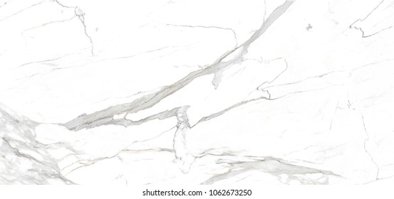 Carrara White premium marble texture white stone background, Interior kitchen or Bathroom design for Ceramic tile inkjet.