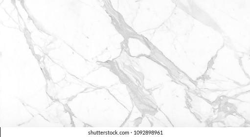 Carrara White premium marble texture extra white stone background, for Interior design and Ceramic tile inkjet.