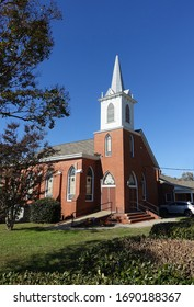 CARRBORO, NC - November 9, 2019: St Paul's AME Church