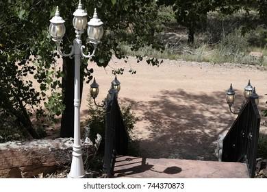 Carriage Pole Lights