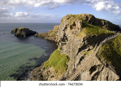 Carrickarede Rope Bridge Northern Ireland