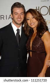 """Carrie Ann Inaba and guest at the """"Class Of Hope Prom 2007"""" Charity Benefit hosted by Sharon Stone and Kelly Stone. Sportsmen's Lounge, Studio City, CA. 04-21-07"""
