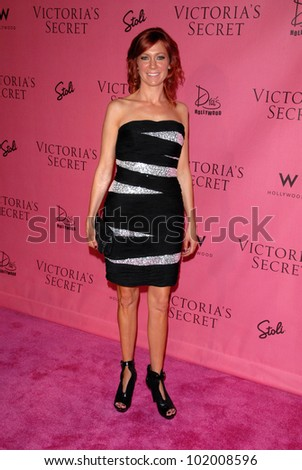 201a13c096 Carrie Preston at the Victoria s Secret Supermodels Celebrate the Reveal of  the 2010
